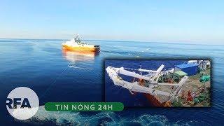 Tin nóng 24H | Tàu thăm dò Trung Quốc trở lại vùng đặc quyền kinh tế của Việt Nam