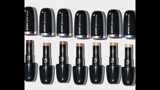 Marc Jacobs Accomplice Concealer -See Shades in Mini Beauty Trailer!