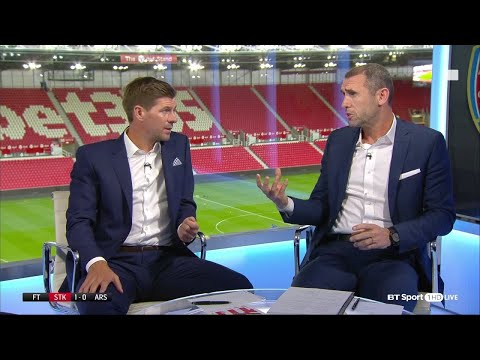 Keown and Gerrard tear into Ozil and Arsenal