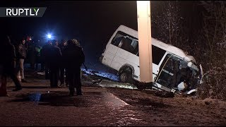 Крупное ДТП в Марий Эл: видео с места трагедии