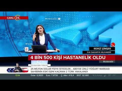 Sakarya Karasu'da 6 günde 4 bin 500 kişi hastanelik oldu. Ayrıntıları Remzi Şimşek aktarıyor