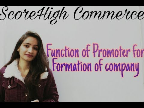 Formation of a Company I  business study I class 11th I chapter 7 I part 1 I in Hindi हिंदी