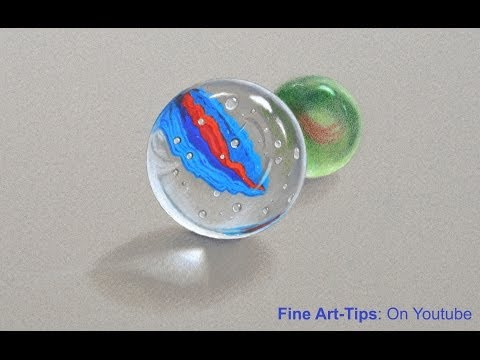 How to Draw Marbles - Crystal