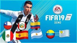 ¡POR FIN! ¡YA PUEDES DESCARGAR LA DEMO DE FIFA 19!
