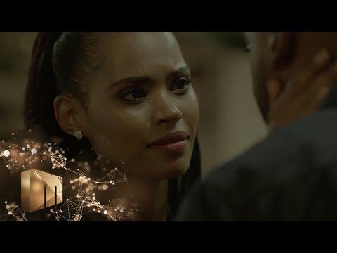 Tebza and Kele kiss – The Imposter   Mzansi Magic