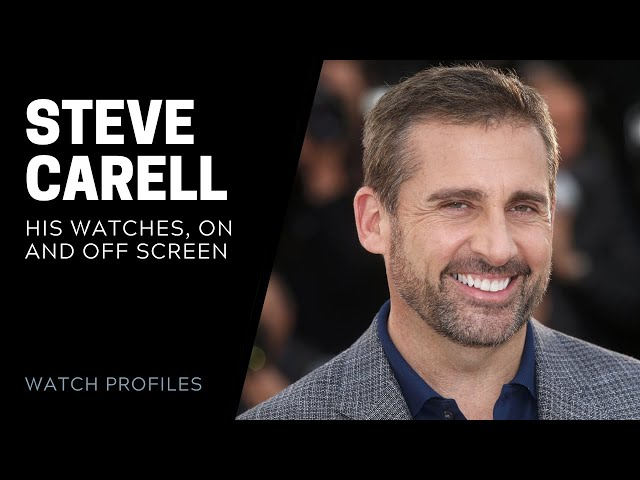 Steve Carell Watch Collection | SwissWatchExpo