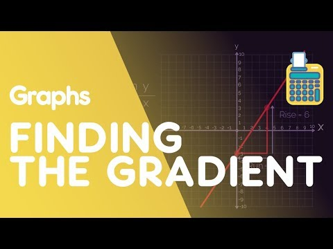 Finding The Gradient Of A Straight Line | Graphs | Maths | FuseSchool thumbnail