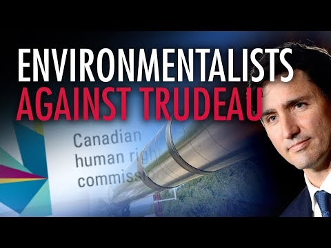 Environmentalist lodges human rights complaint against Trudeau, and he only has himself to blame
