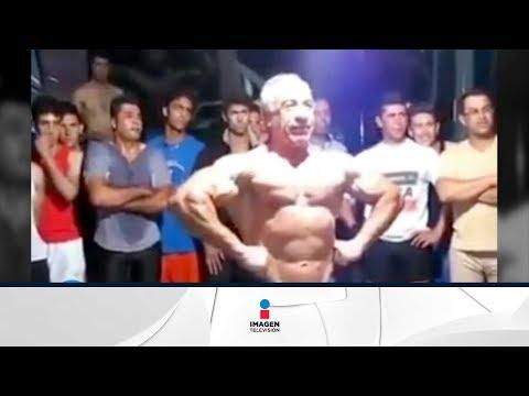 "Asombrosa musculatura de ""Felipe Calderón"" | Qué Importa"