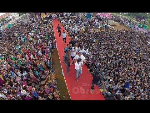 Vijay Mass speech in TIRUNELVELI (Kaththi 50th day)
