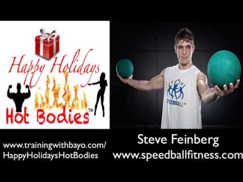 Steve Feinberg - Holiday Fitness Fun w/ Speed Ball Fitness
