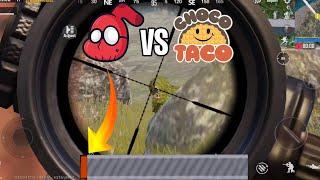 SEVOU VS CHOCOTACO IN PUBG MOBILE!!!