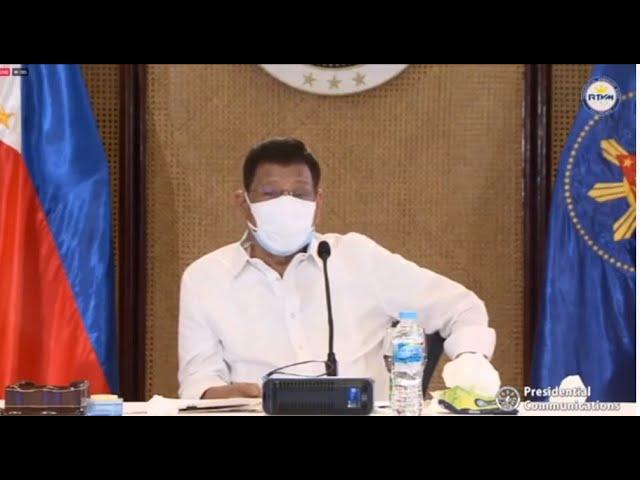 President Rodrigo Duterte Talk to the People - Sept. 11, 2021