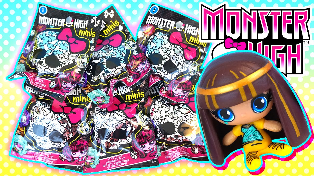 Monster High Minis Surprise Blind Bags With Cute Mini