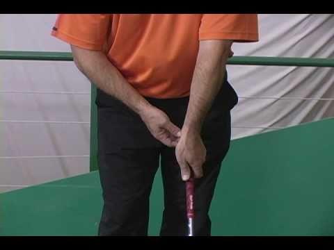 how to fix a strong golf grip