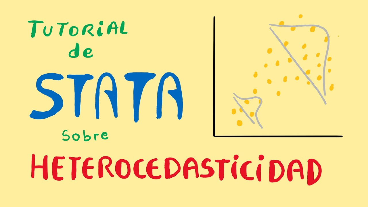 Heterocedasticidad con STATA | Prueba de White Y Breusch Pagan | correcion de White