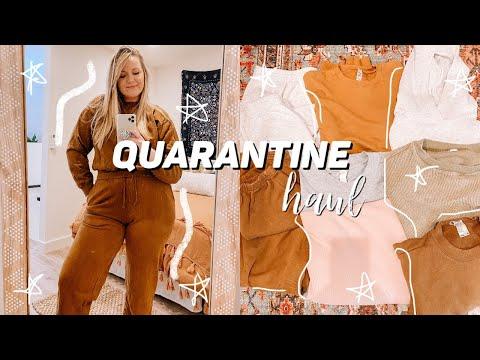 I Bought A *NEW* Quarantine Wardrobe Lol (try On-haul)