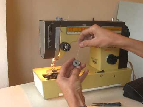 Sewing machine Veritas 8014/4140E  намотка і заправка ниток