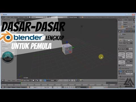 Tutorial Dasar Mudah Pengenalan Fungsi tools Blender 3D (panduan Text Indonesia) HD