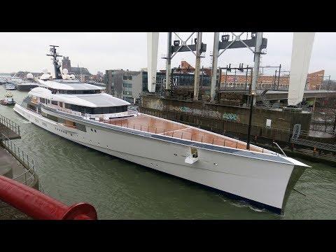 Oceanco Bravo Eugenia's first sailing on December 7th, 2018.