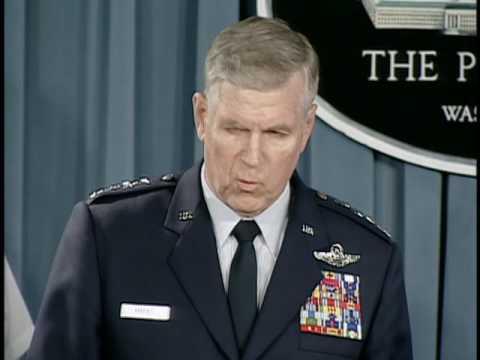 OASD: DoD News Briefing (Rumsfeld/Gen. Myers/Gen. Cody/Adm.