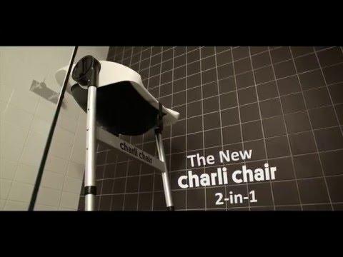 CharliChair 2 in 1 Baby Shower Chair