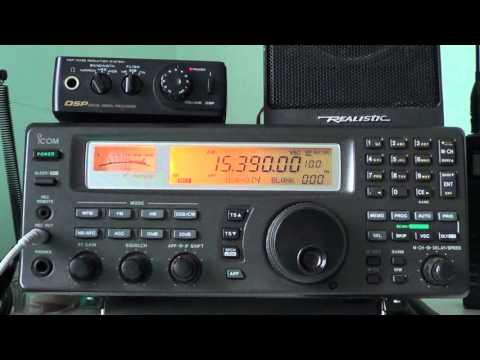 Radio Exterior de Espana 15390 Khz on Icom IC R8500