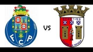 Porto 3 x 1 Braga - Relato Todos os Golos ( Antena 1 ) - Campeonato Português - 08/04/2013
