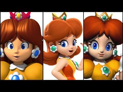 The Evolution of Princess Daisy (1989-2017)