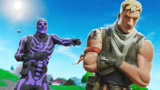 OLD RAREST SKIN makes fun of my NO SKIN, then I showed my RECON EXPERT and he FREAKED OUT!