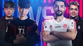 All-Star 2018 - Captain Jack e Faker (KR) vs (BR) brTT e Yoda - (2x2)
