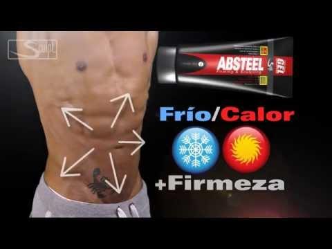 Modo de aplicacion de Absteel gel reductor de abdomen para hombre