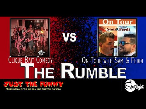 The Rumble At Just The Funny's Spotlight - Clique Bait Vs. On Tour
