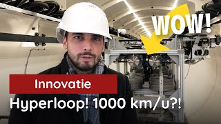 1000 kilometer per uur?! Thierry Baudet in de hyperloop!
