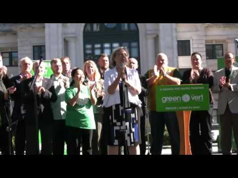 Green Rally Vancouver Oct 03 2015