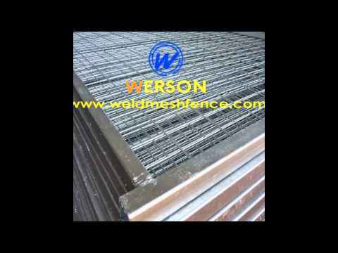 Canada Type Temporary Fence  -Werson Weld Mesh Fence Co.,Ltd