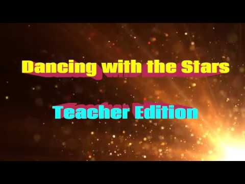 Dancing with the Stars Teachers Edition 2018