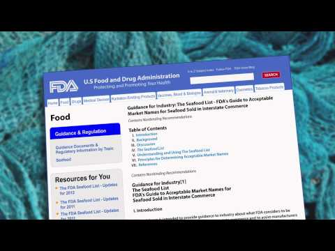 FDA and Seafood Labeling Part 2