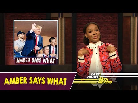 Amber Says What: Trump Booed at World Series, Stephen Millers Leaked Emails