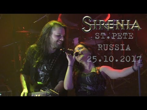 Sirenia - Live In St.Petersburg, Russia, 25.10.2017 [Full Show, Great Quality]
