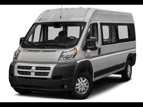 ram promaster 2500 window van 2017 - YouTube