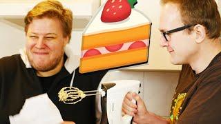 Wir backen einen Kuchen