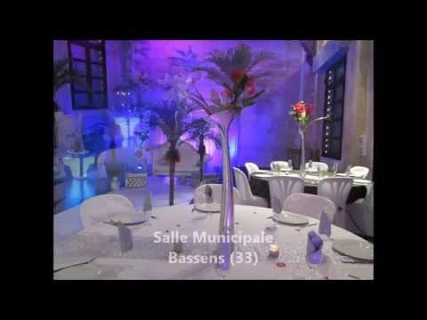 D coration de salle mariage bordeaux youtube - Merlin decoration bordeaux ...