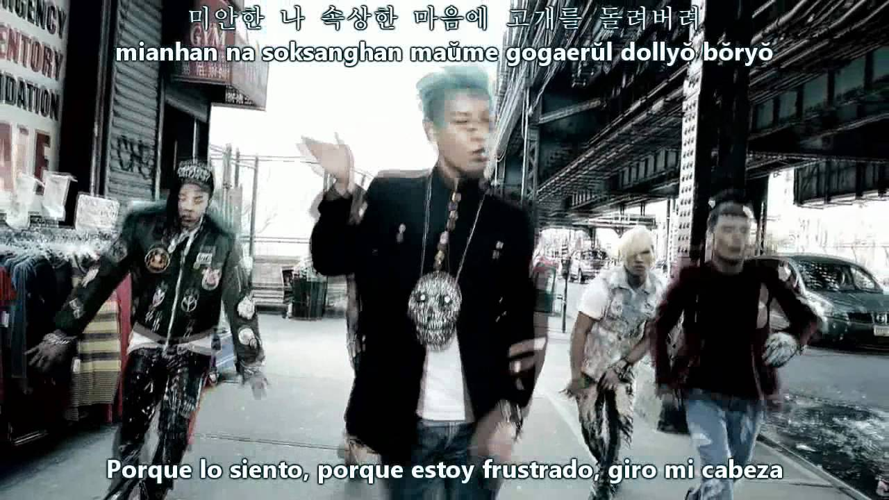 Big Bang-Bad Boy [LYRIC HANGUL+ROMAN+TRANS] - YouTube