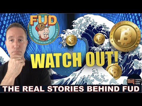 4 CRYPTO FUD STORIES YOU NEED TO KNOW. (2 SIDES)