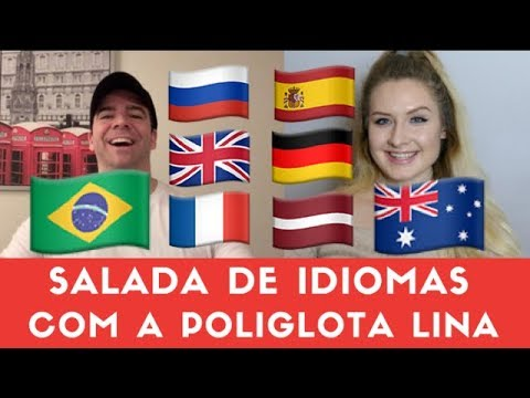 Salada De Idiomas: Bate-Papo com a Poliglota Lina Vasquez Gabriel Poliglota