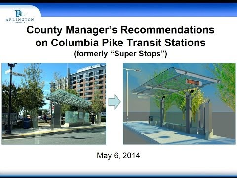Press Briefing: Arlington County Manager's Recommendations for Future Transit Station Construction