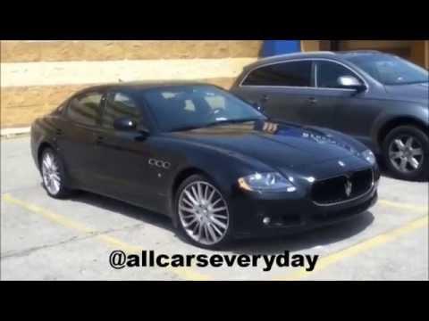 2004 2012 Maserati Quattroporte Quick Review Youtube