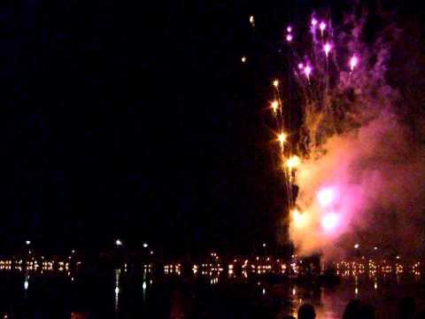 Musik und Licht am Holler See  Bremen    Händels Feuerwerksmusik
