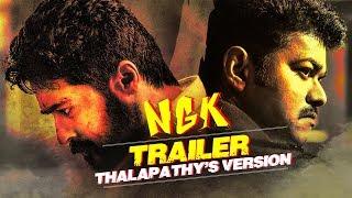 NGK Official Trailer - Thalapathy Vijay Version